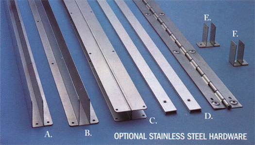 Optional Stainless Steel Hardware